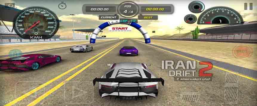 دانلود بازی ایران دریفت 2 اندروید + نسخه مود شده