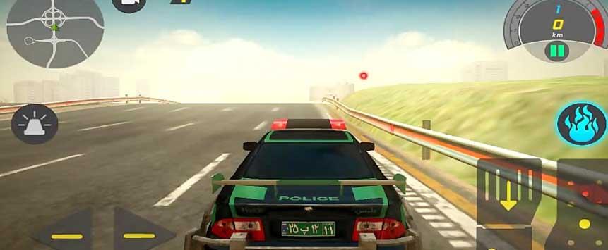 نسخه هک شده بازی گشت پلیس 2 با پول بی نهایت