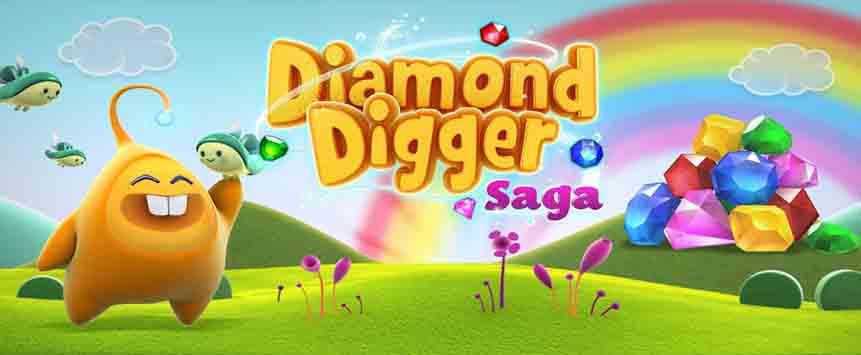 دانلود بازی پازلی Diamond Digger Saga 2.64.0 مود شده