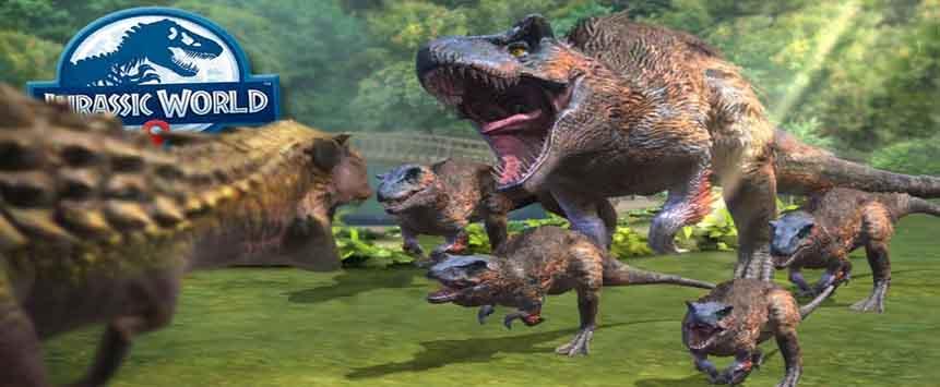 دانلود بازی Jurassic World Alive 2.2.20 با لینک مستقیم